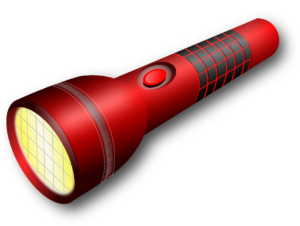 camping flashlight