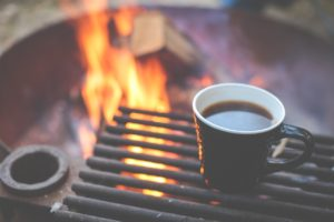 coffee and campfire