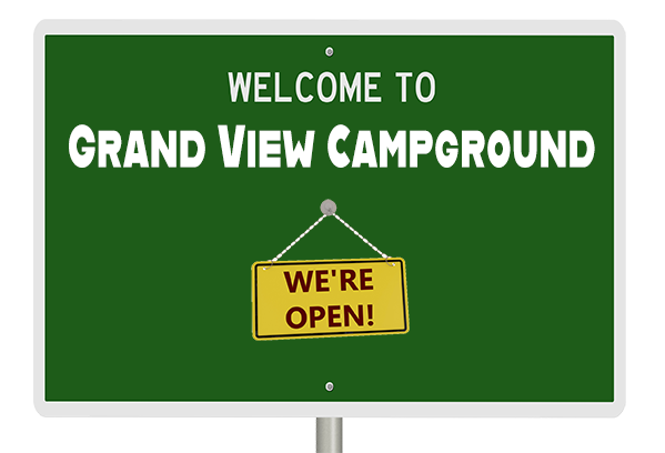 grand view campground is open